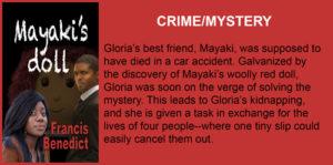 #Crime #Mystery #Mayaki'sDoll